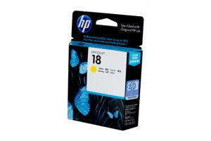 HP #18 Yellow Ink Cart C4939A
