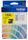 Brother LC135XL Yellow Ink