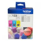 Brother LC133CL3PK Colour Value Pack ink cartridges