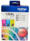 Brother LC135XLCL Pack Colour ink cartridges