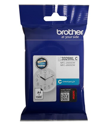 Brother LC3329XL Cyan Ink - Click Image to Close